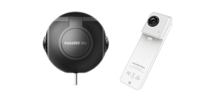 Insta360 Air и Nano — бюджетные камеры для стрима!