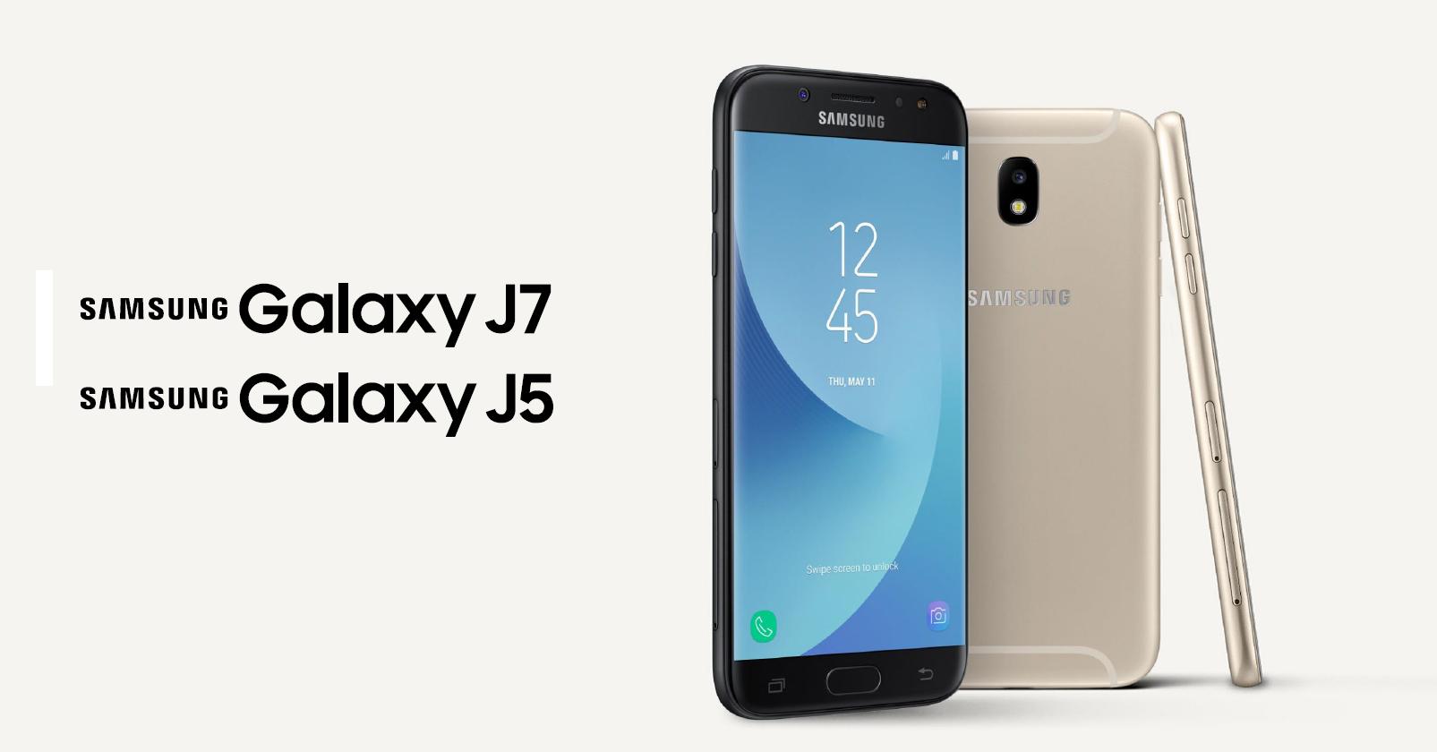 Samsung Galaxy J5 и J7 — обновление популярной линейки