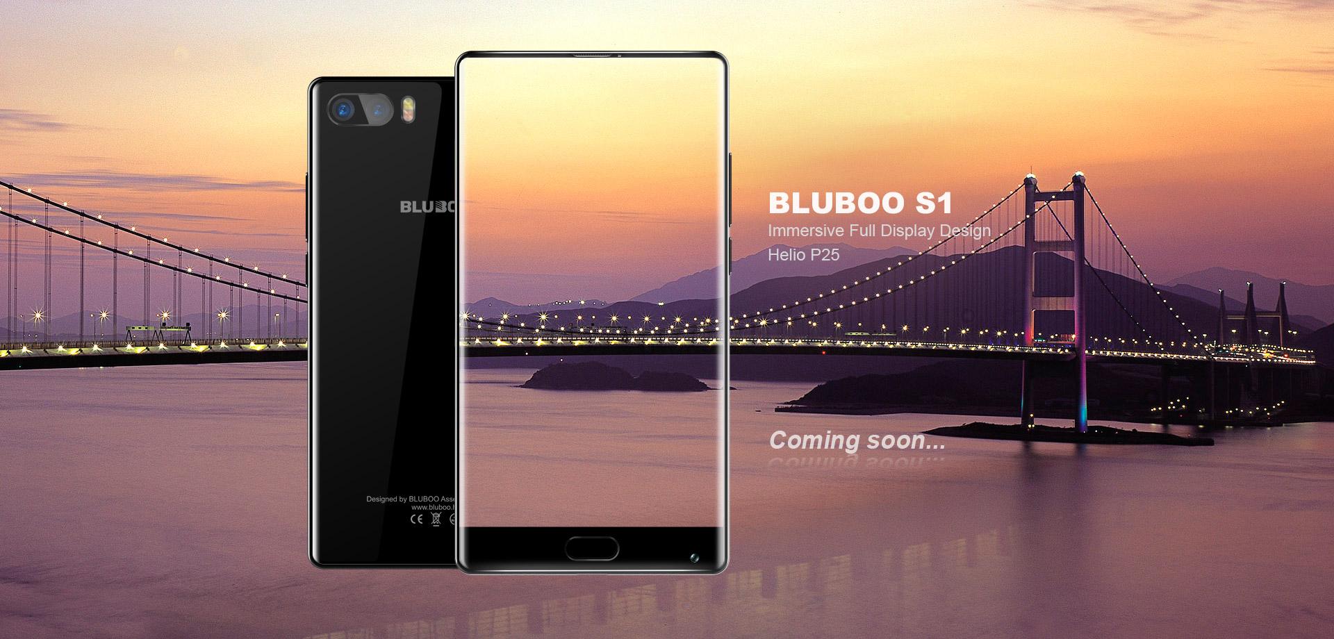 Безрамочный BLUBOO S1 можно получить бесплатно!