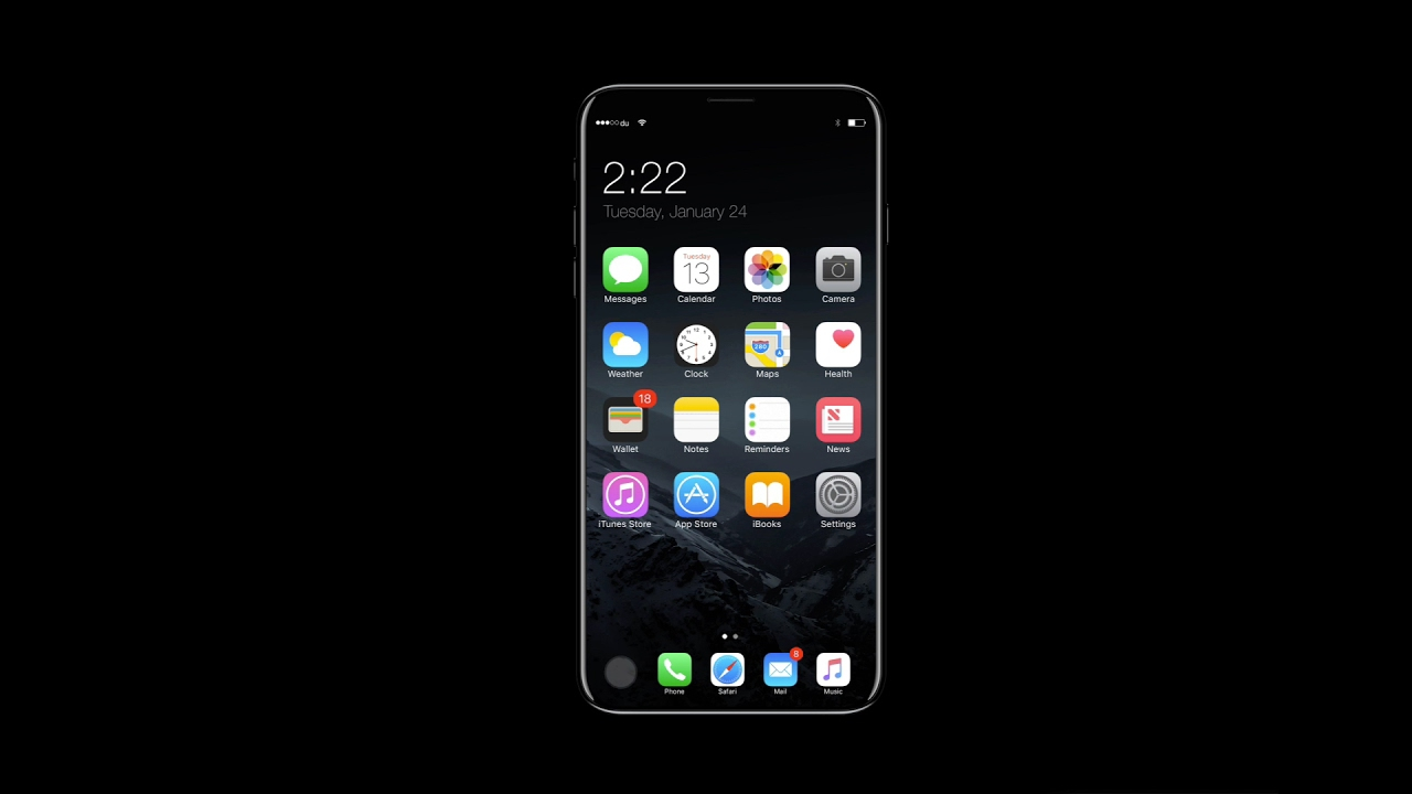 Как будет выглядеть новый iPhone 8?