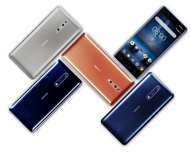 Обзор смартфона Nokia 8