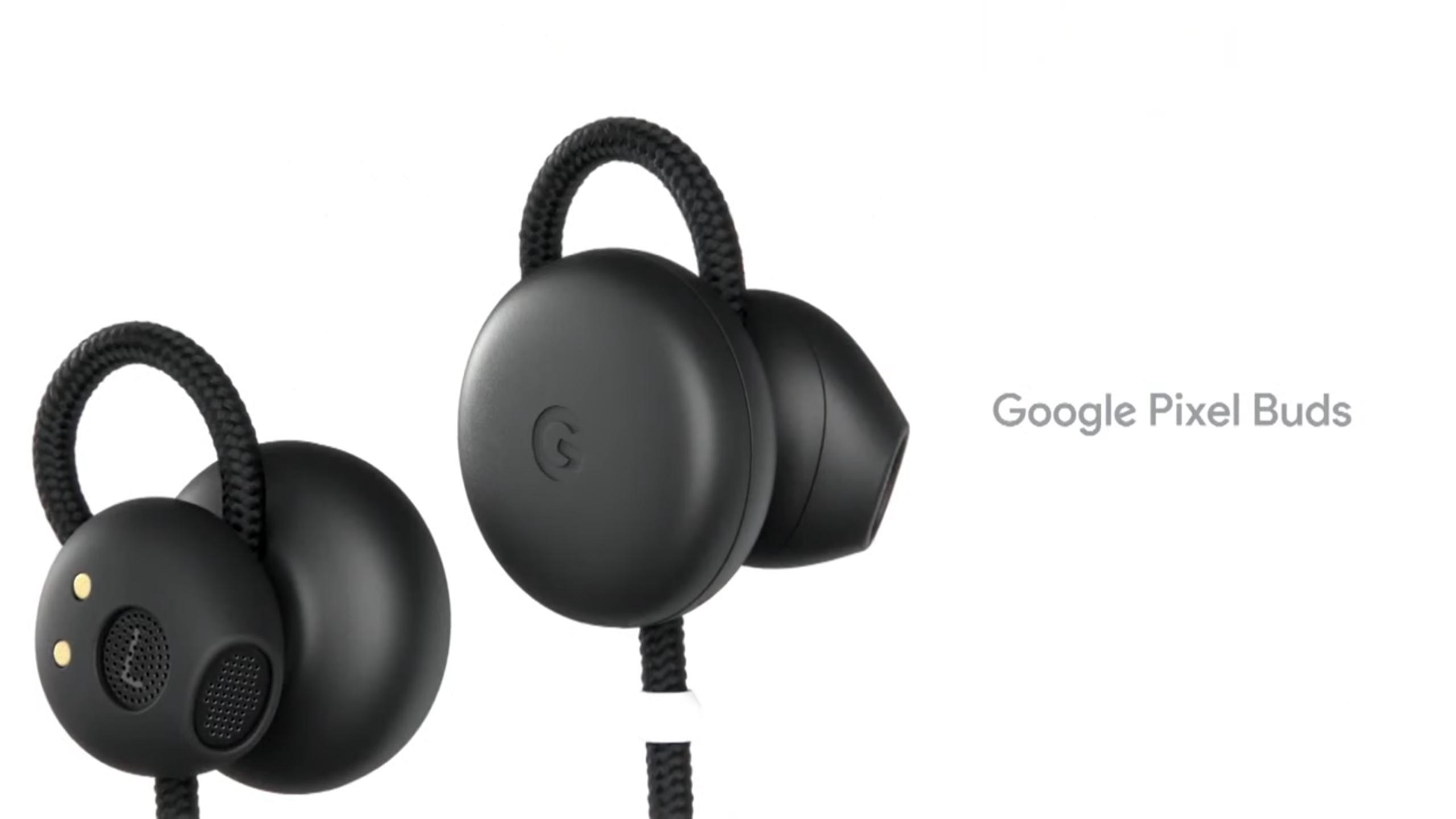 Новые наушники от Google — Pixel Buds