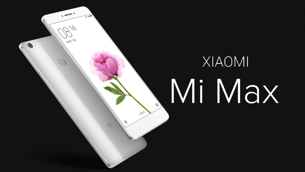 Xiaomi Mi Max — обзор смартфона