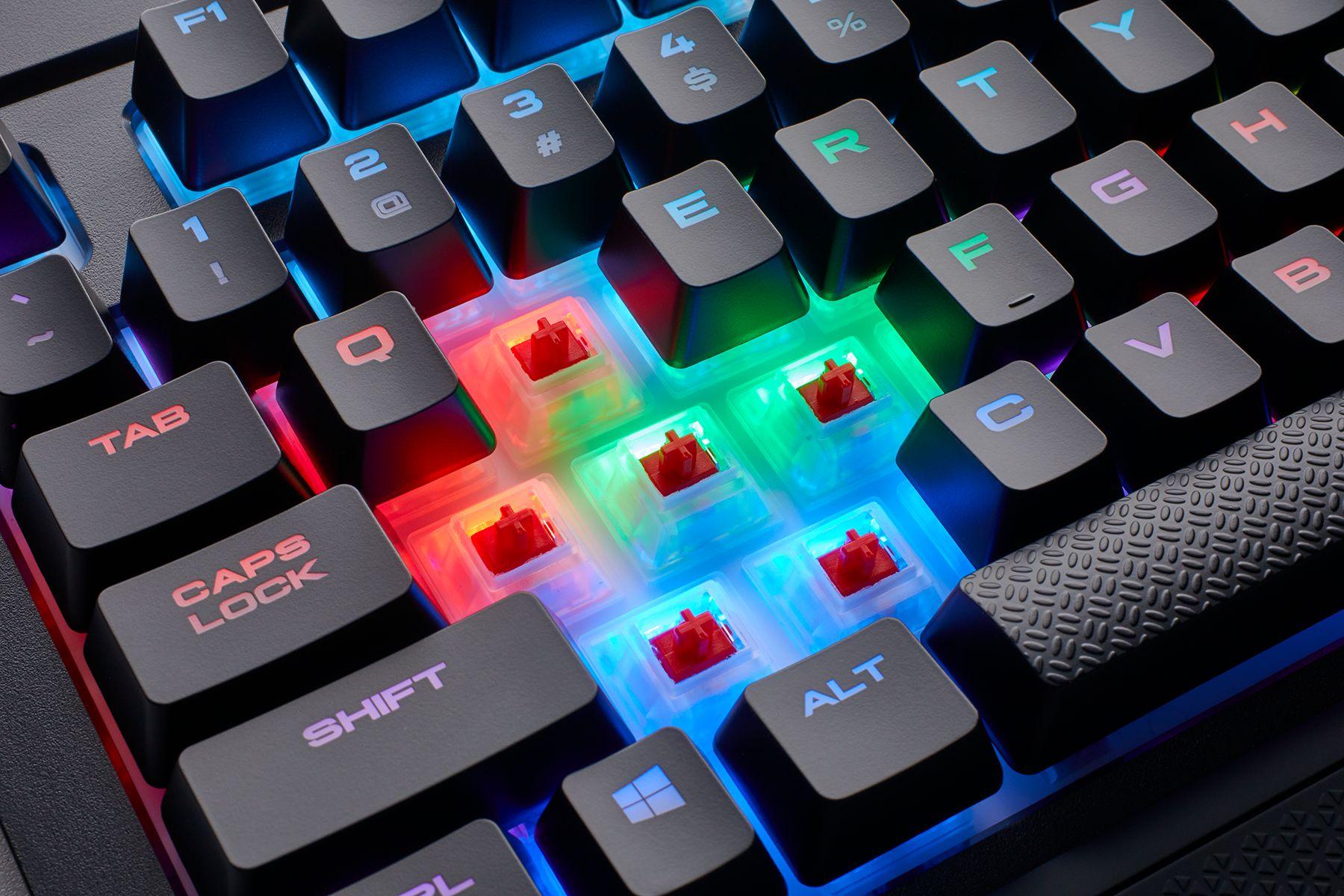Мечта геймера – влагоустойчивая игровая клавиатура.