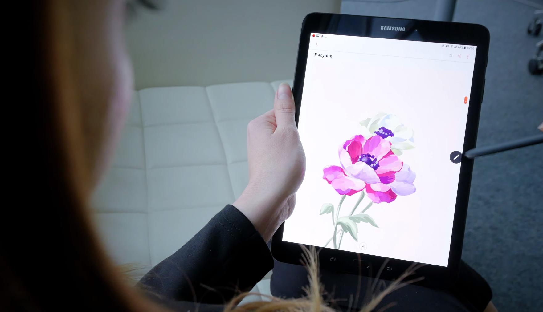 9,7 дюймов идеального изображения — Samsung Galaxy Tab S3