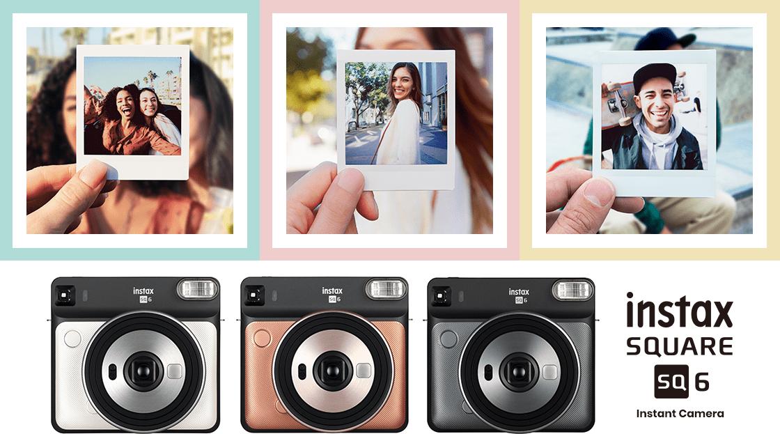 Запечатлейте яркие моменты жизни с камерой Fujifilm instax SQUARE SQ6