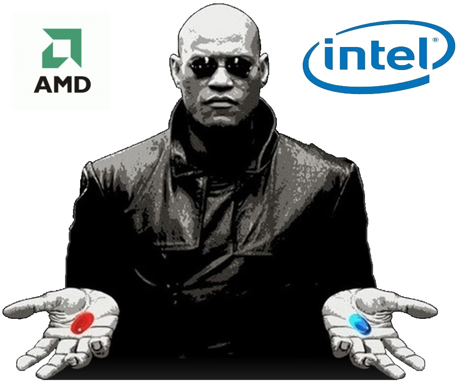 Matrix Intel AMD