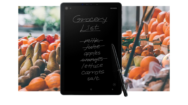 Заметки на Samsung Galaxy Tab S4