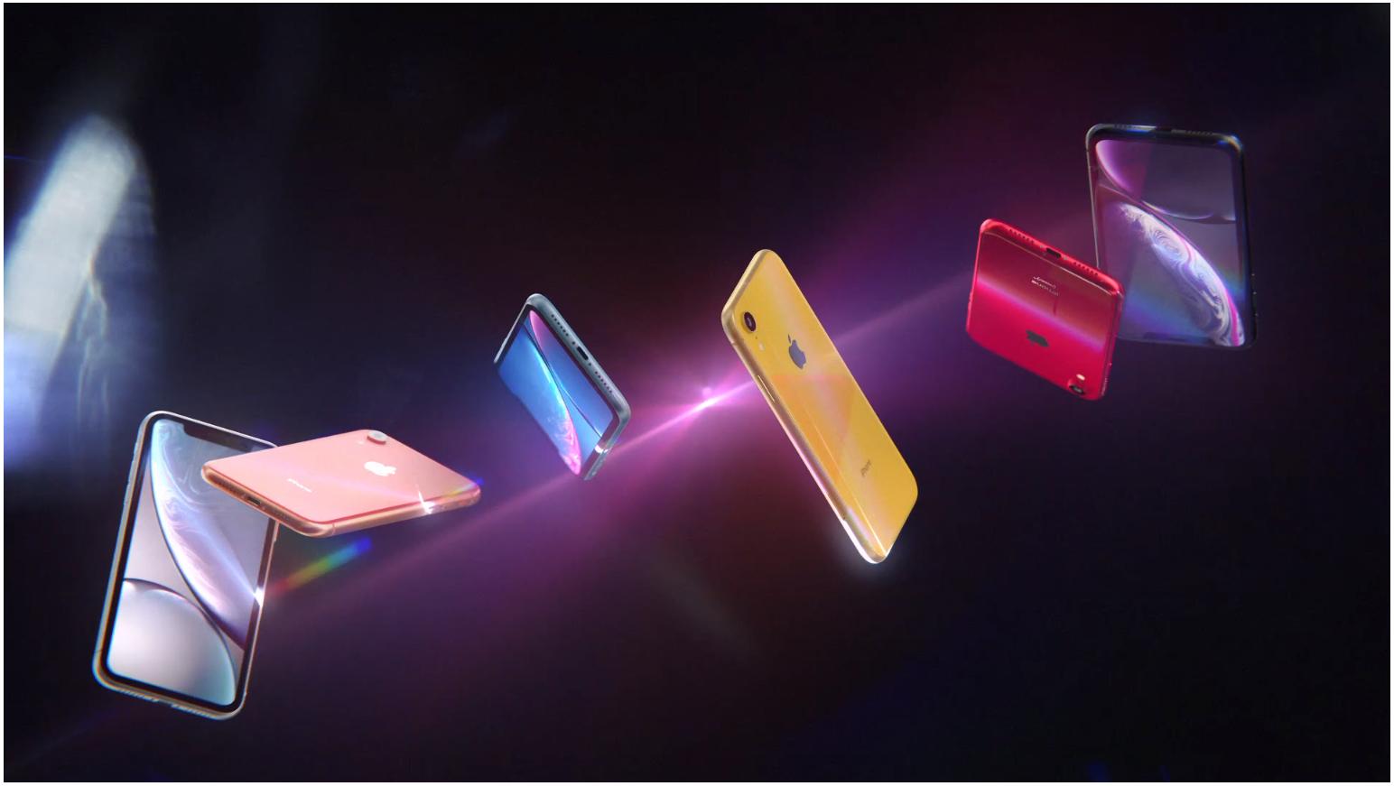 Цветовая гамма iPhone Xr
