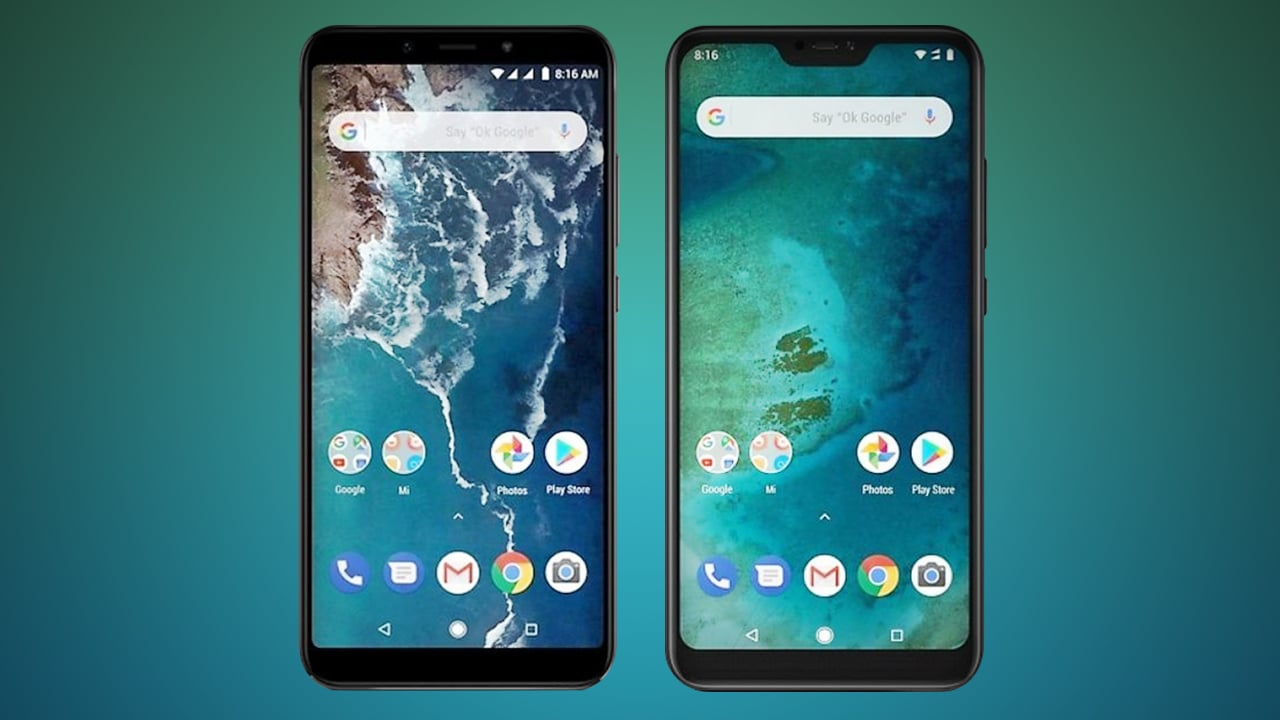 Xiaomi Mi A2 & A2 lite
