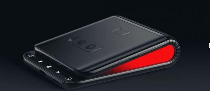 смартфон Samsung со сгибающимся экраном