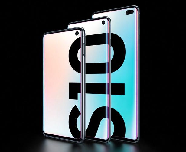 Семья Samsung GalaxyS10