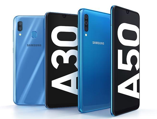 Galaxy A30, Galaxy A50