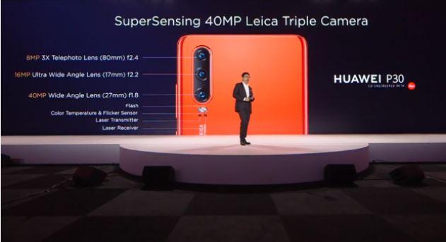 Презентация Huawei P30