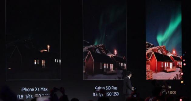 Ночная съемка Huawei P30 Pro
