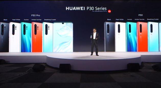 Флагман Huawei P30 — камера, видящая всё