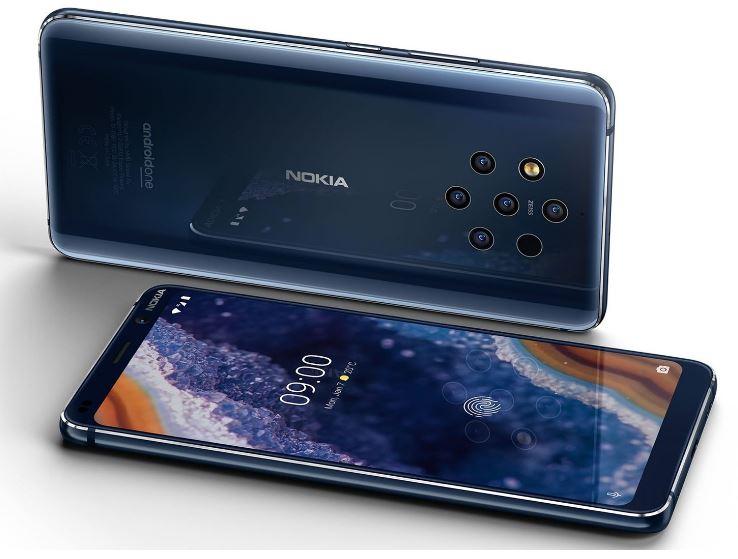 Флагман от Nokia с пятью камерами — уже скоро
