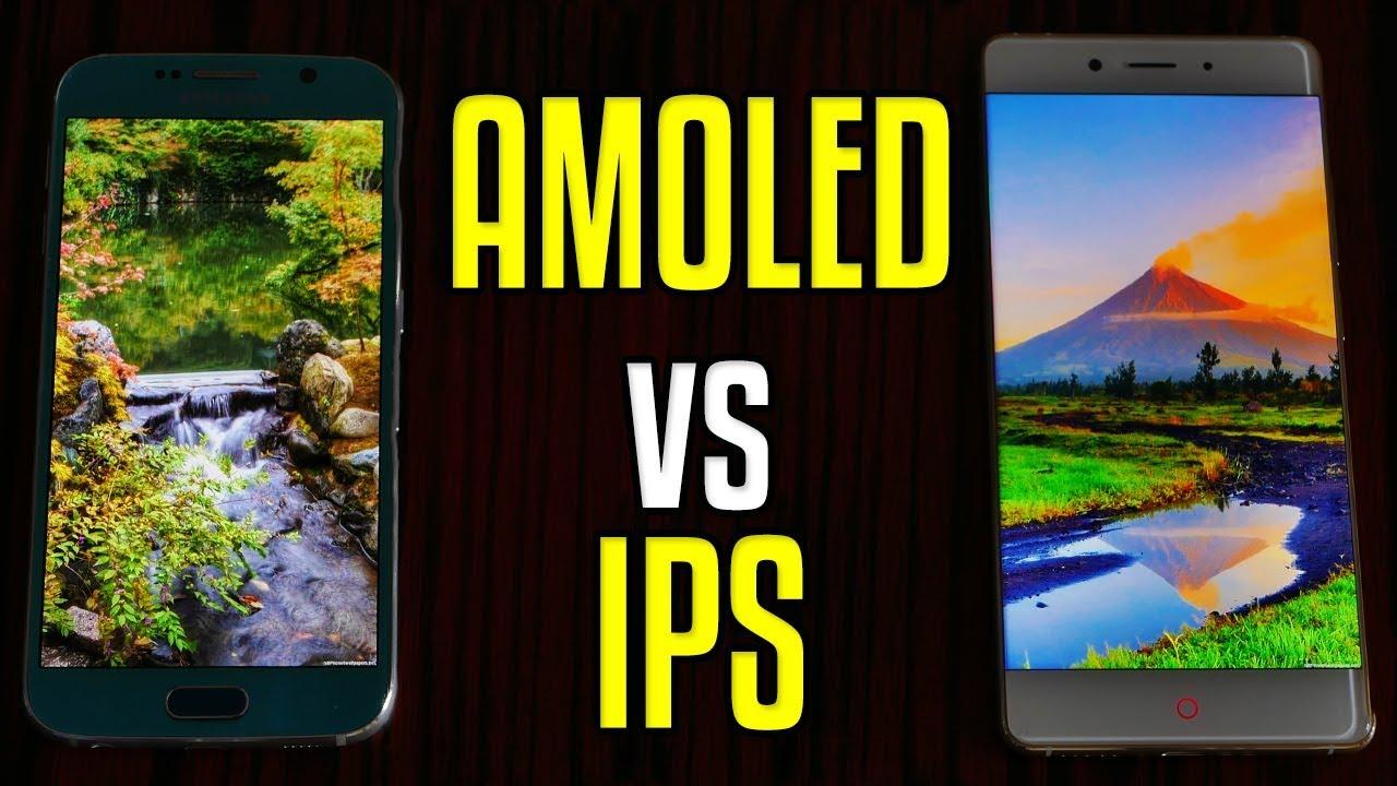 IPS vs AMOLED: что лучше?