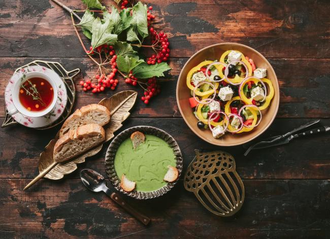 Осенний обед: пять блюд для осеннего настроения