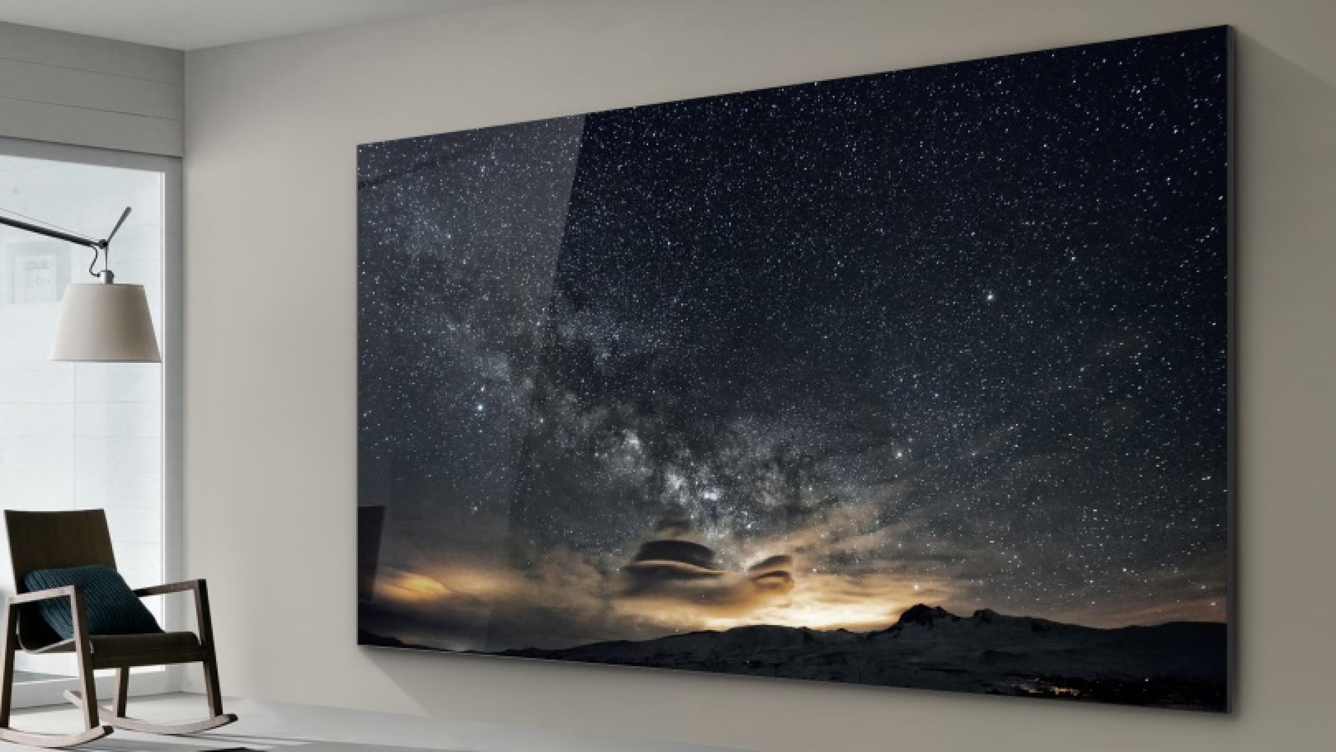 Samsung создали телевизор без проводов: привет от Теслы