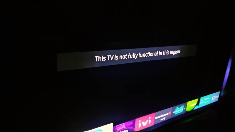 Блокировка «серых» телевизоров Samsung: объясняем, что происходит