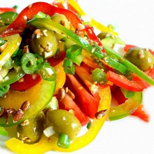 Весенние салаты: пять рецептов