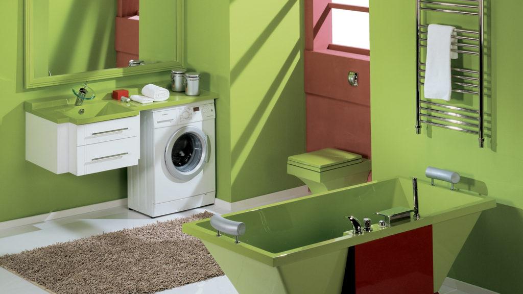 Топ вариантов размещения стиральной машины